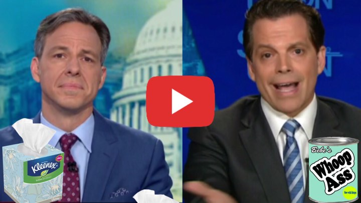 WOW! Scaramucci Just Taunted CNN's Jake Tapper With This ...