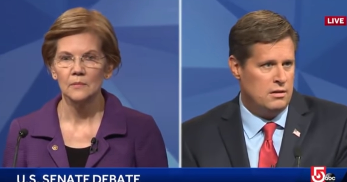 Watch: Liz Warren Learns About Ethics Complaint Against Her For Kavanaugh On Live TV • MAGADoodle