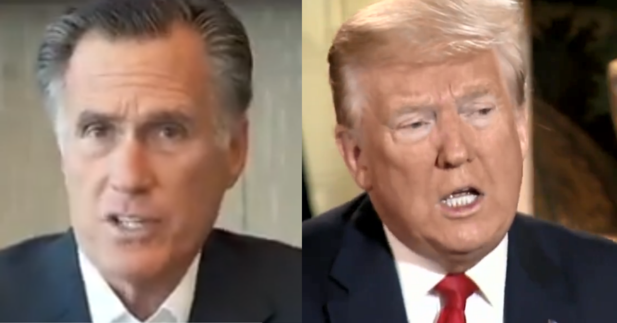 Mitt Romney Breaks With Trump, Moves To Block Decision To Remove Troops From Germany • MAGADoodle